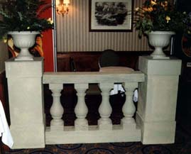 balustrade sections
