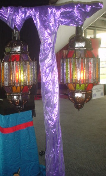 glazed arabic lanterns