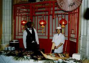 Chinese themed buffet