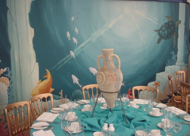Atlantis table setting