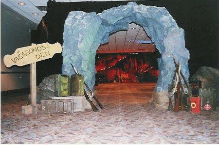 Vagabonds cave entrance