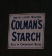 period starch sign