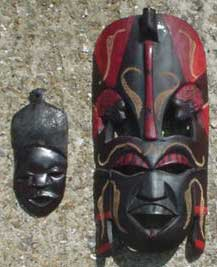 small african masks