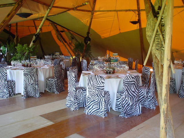 Out Of Africa Treetops Themed Party