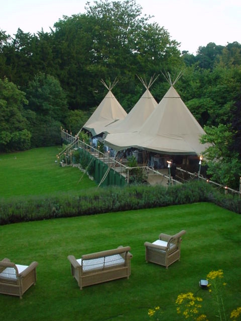african party tents