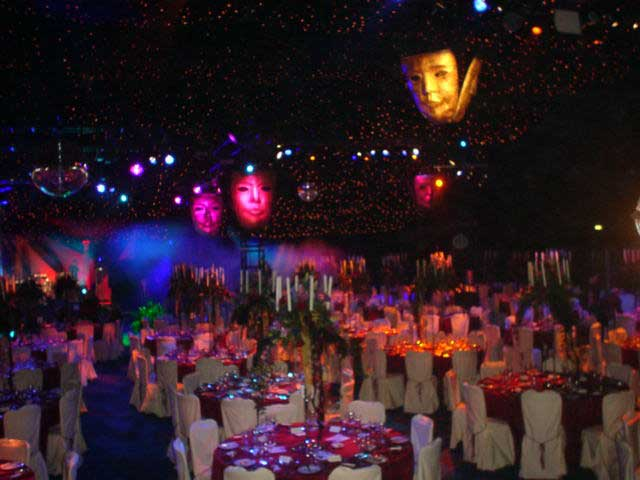 Masked ball for 1200 guests