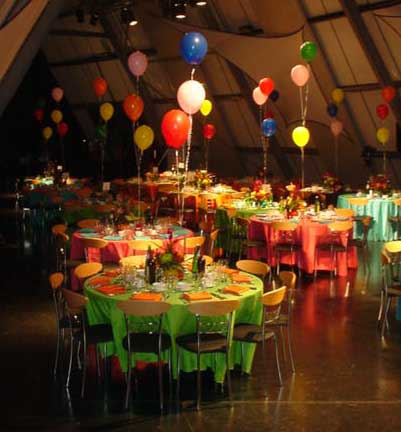 Colours Themed Party