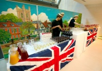 British themed buffet