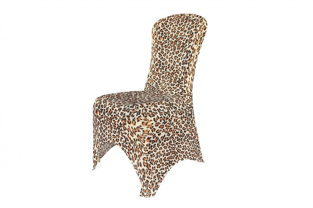 leopard print chair covers