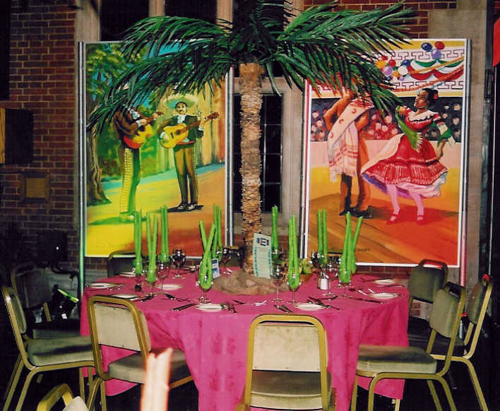 latin american theme party
