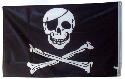 small pirate flag