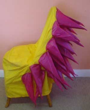spikey chair covers
