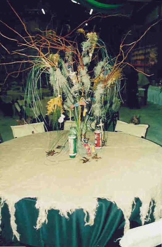 voodoo table setting