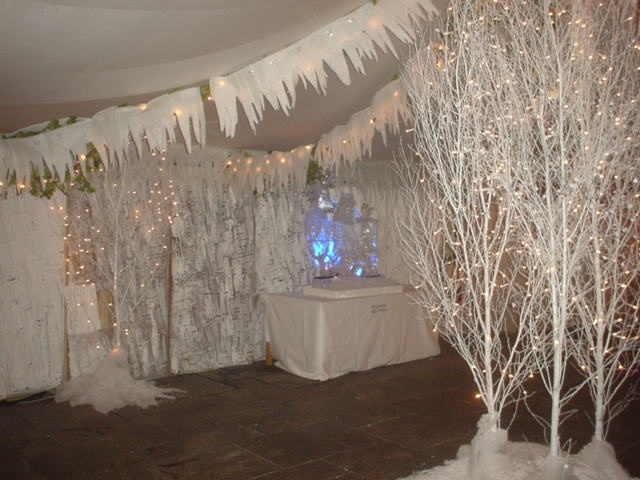 winter wonderland entrance